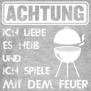 het Barbecue - Vintage-T-shirt herr