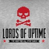 Lords of Uptime black - Männer Vintage T-Shirt