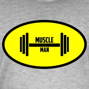 Muscle Man - T-shirt vintage Homme