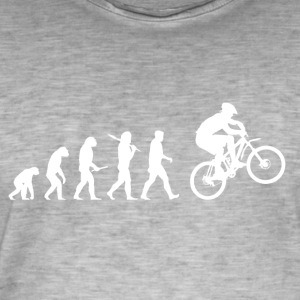Evolution Mountainbiking! Trekking Bike! - Men's Vintage T-Shirt
