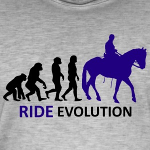 ++ ++ Ride Evolution - Vintage-T-shirt herr