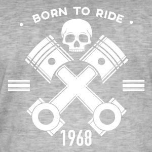 Birthday motorcycle motorcycle - Men's Vintage T-Shirt