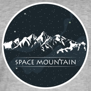MOUNTAIN - Mannen Vintage T-shirt