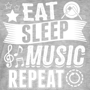 Music EAT SLEEP Musician musician - Men's Vintage T-Shirt