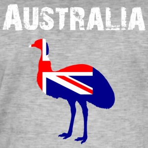 Nation-Design Australia 02 - Vintage-T-skjorte for menn