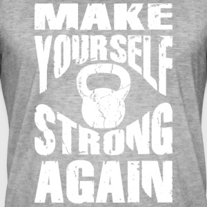 Make yourself strong again KB - Männer Vintage T-Shirt