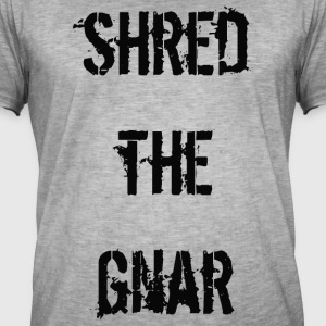 Shred the Gnar - T-shirt vintage Homme