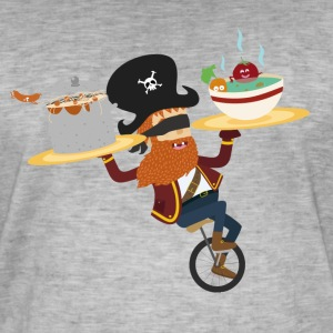 yum pirate - T-shirt vintage Homme