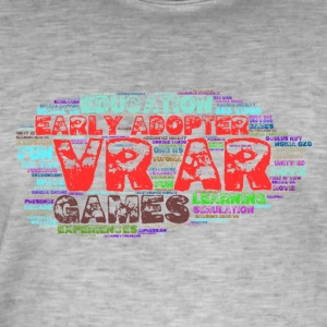 AR VR early adopter - Men's Vintage T-Shirt