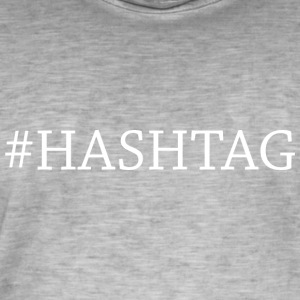 hashtag - Men's Vintage T-Shirt