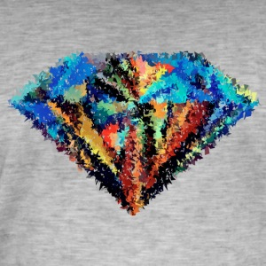 abstract diamond - Men's Vintage T-Shirt
