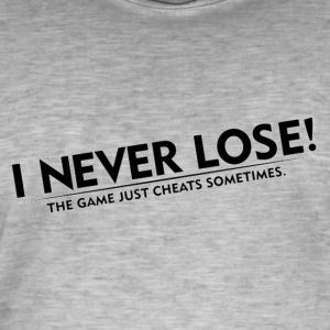 Never Lose - Men's Vintage T-Shirt