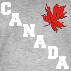 Canada Maple Leaf - Men's Vintage T-Shirt