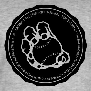 Baseball International - Men's Vintage T-Shirt