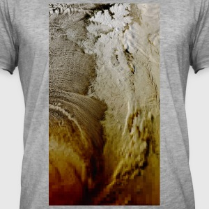 Ice World One - Herre vintage T-shirt