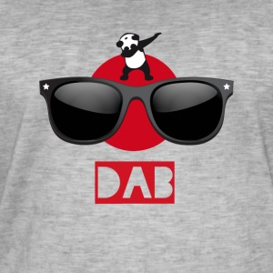 Panda sun dab it dabbing Dance Football touchdown - Männer Vintage T-Shirt