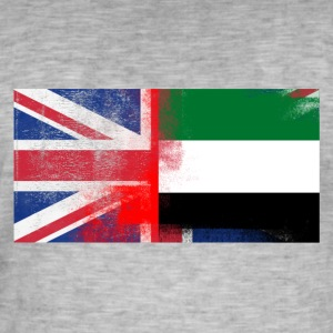 British Emirates Half United Arab Emirates Half UK - Men's Vintage T-Shirt