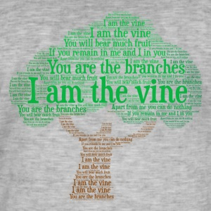 I Am The Vine from Jesus Teaching - Men's Vintage T-Shirt