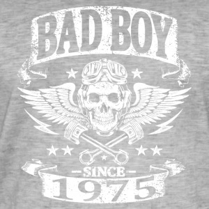Bad boy since 1975 - T-shirt vintage Homme