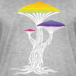 magic mushrooms - Vintage-T-skjorte for menn