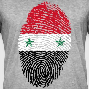 SYRIA / SYRIA T-SHIRT FINGERPRINT - Men's Vintage T-Shirt