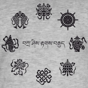 Ashtamangala - Men's Vintage T-Shirt