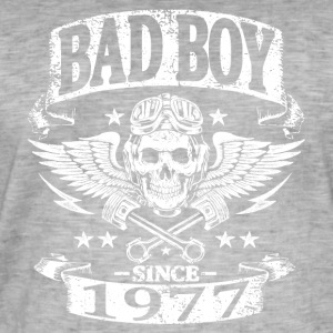 Bad boy since 1977 - T-shirt vintage Homme