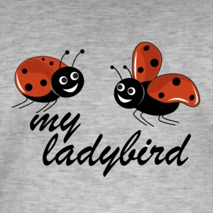 ladybugs - Men's Vintage T-Shirt