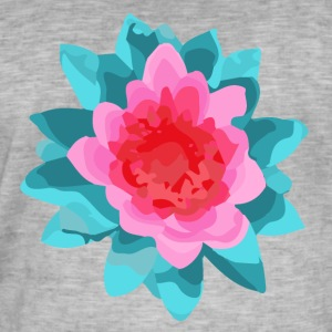Bloom - Vintage-T-shirt herr