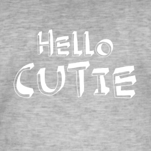 Hello box funny scents - Men's Vintage T-Shirt