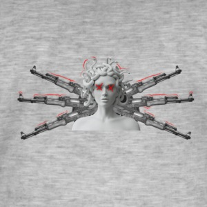 Medusa is the way - Men's Vintage T-Shirt