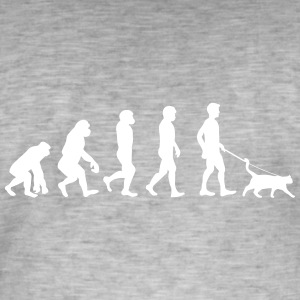 Chats - Evolution - T-shirt vintage Homme