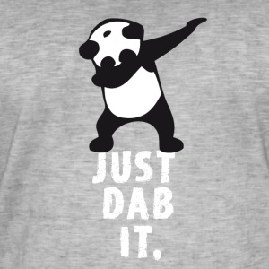 dab just panda dabbing dub dance cool LOL funny - Men's Vintage T-Shirt