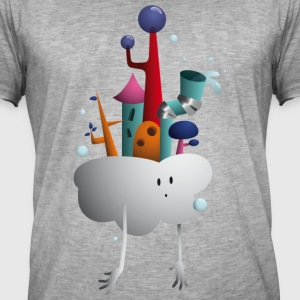 Cloud Village - Mannen Vintage T-shirt