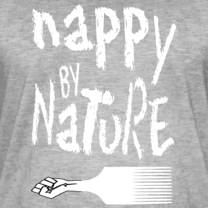Nappy By Nature - Vintage-T-skjorte for menn