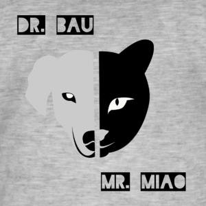 Dr. Bau and Mr. Miao - Men's Vintage T-Shirt