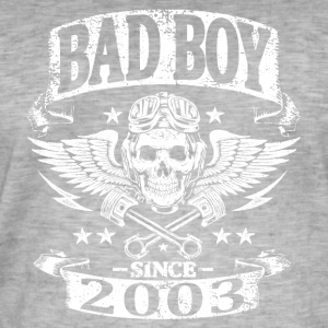 Bad boy since 2003 - T-shirt vintage Homme