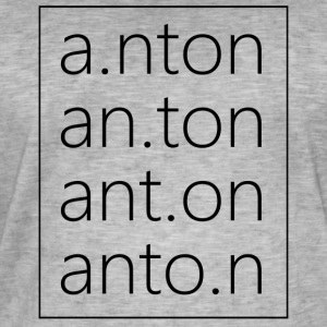 AntonsFashion - Männer Vintage T-Shirt