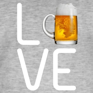 LOVE BEER - Men's Vintage T-Shirt