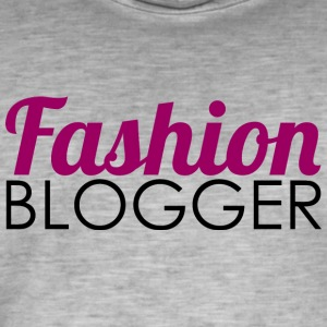 Fashion Blogger - Men's Vintage T-Shirt
