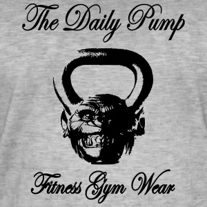 The Daily pumpa Chimp Kettlebell - Vintage-T-shirt herr