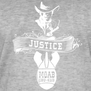 MOAB - Mother Of All Bombs - Shirt - Männer Vintage T-Shirt