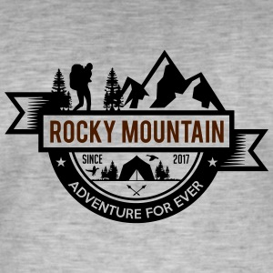 Rocky Mountain - Vintage-T-shirt herr