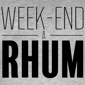 Week-end à rhum - T-shirt vintage Homme