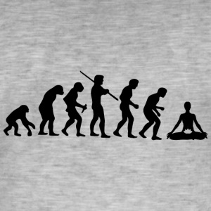Meditatevolution - Men's Vintage T-Shirt