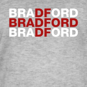 Bradford United Kingdom Flag Shirt - Bradford T-Sh - Men's Vintage T-Shirt