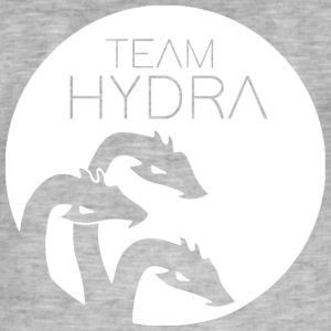 The Hydra White - Männer Vintage T-Shirt
