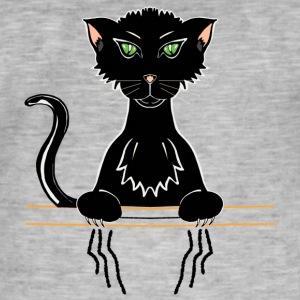 black cat - Men's Vintage T-Shirt