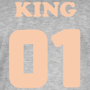 King Design SMK - Männer Vintage T-Shirt