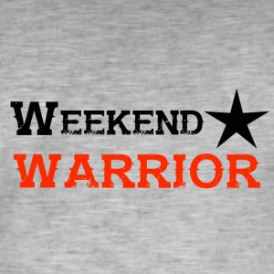 Shirt Weekend Warrior Weekend Party - T-shirt vintage Homme